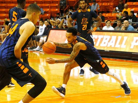 UTEP gave its loyal hoops fans a glimpse of the upcoming season Wednesday night in the Don Haskins Center during the 2018 Basketball Showcase.