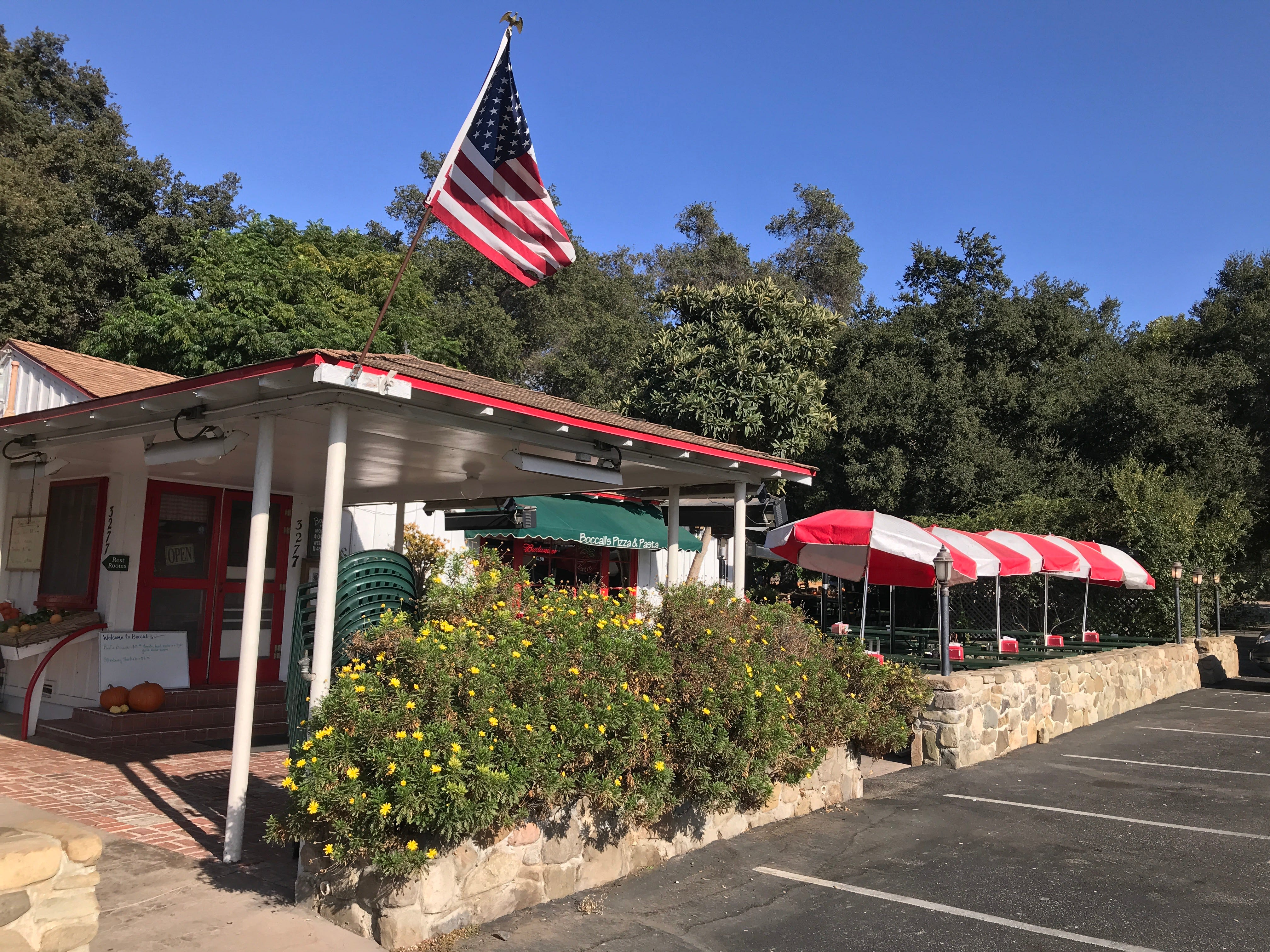 Boccali's Pizza & Pasta Restaurant in Ojai is open for business. It will have a pumpkin patch this year, but no haunted hayride.