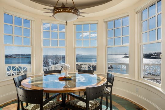 A waterfront property at 408 Grace Church St. in Rye, NY, has been sold for $12.75 million.