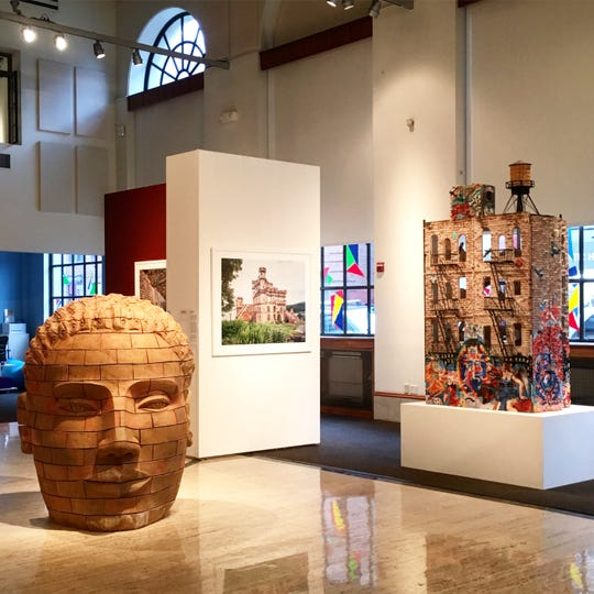"A look at some of the work in ArtsWestchester's ""Brick By Brick."""