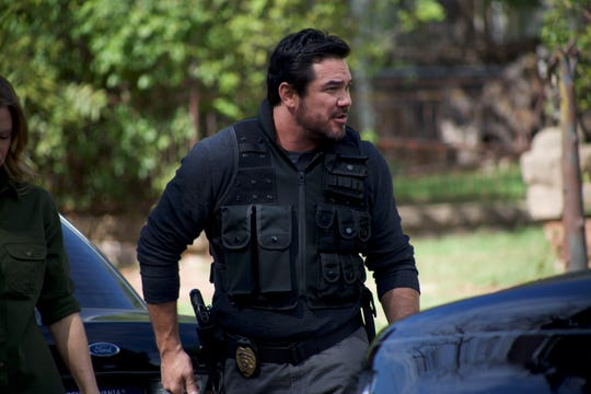 """Dean Cain as detective James Woods in """"Gosnell."""""""