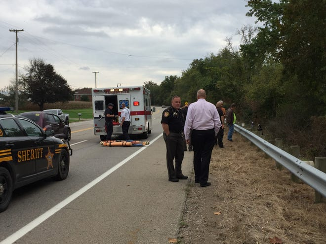 A body has been recovered from the Muskingum River along Ohio 60 South.