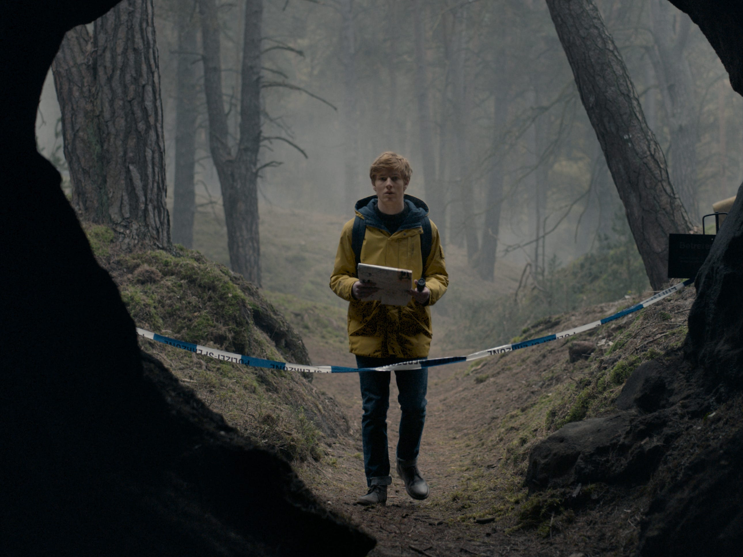 "The strange circumstances surrrounding the disappearance of children from a small town are investigated in ""Dark."" The German-language series, which starred Louis Hofmann, has been renewed by Netflix for a second season."