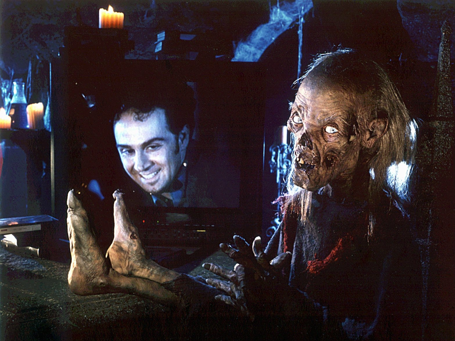 "The HBO horror series ""Tales From the Crypt"" featured the Crypt Keeper as host of the creepy anthology show, which ran for seven seasons."