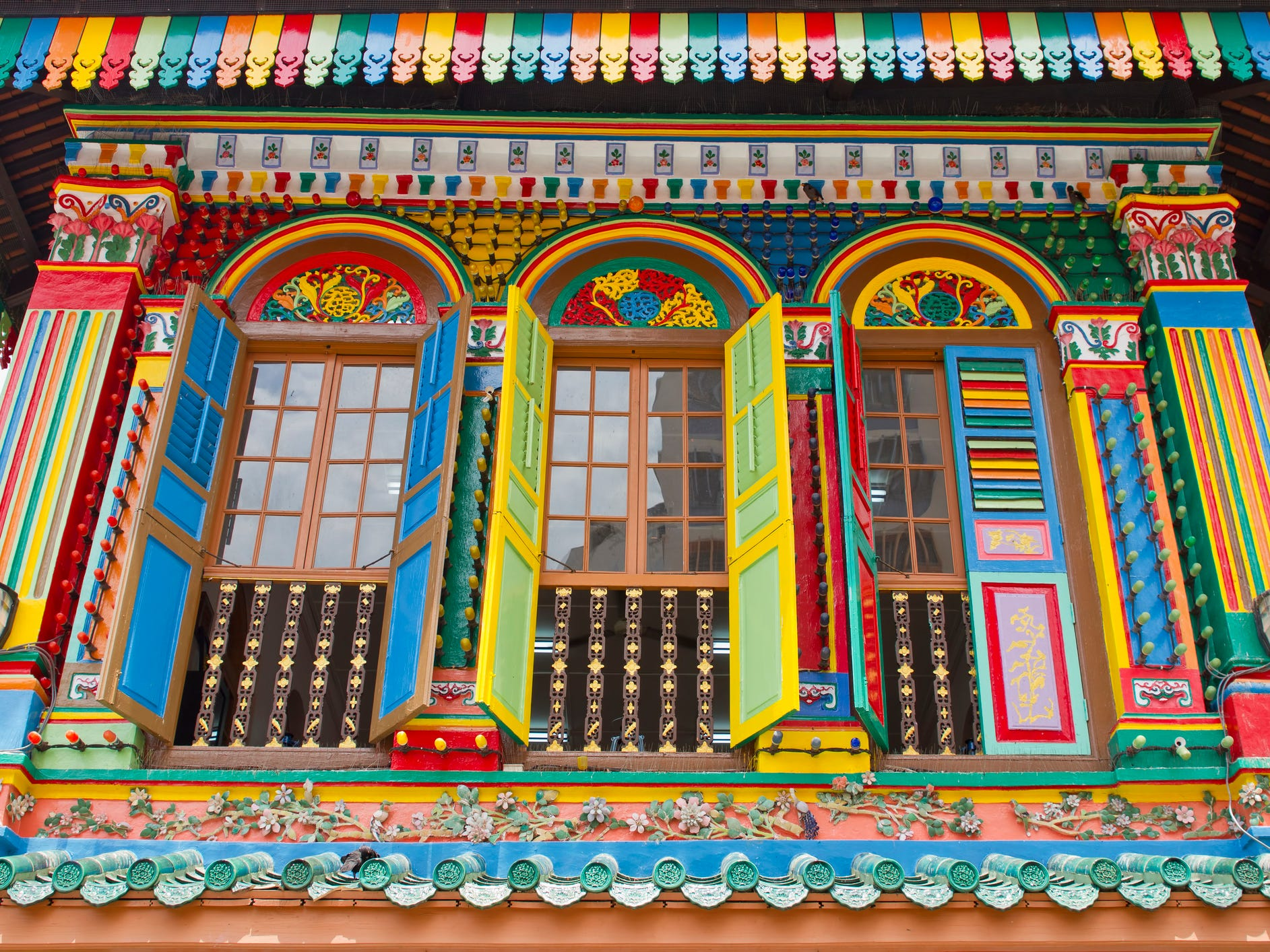 Don't miss the House of Tan Teng Niah, a former Chinese villa that's been painted in dozens of eye-popping hues.