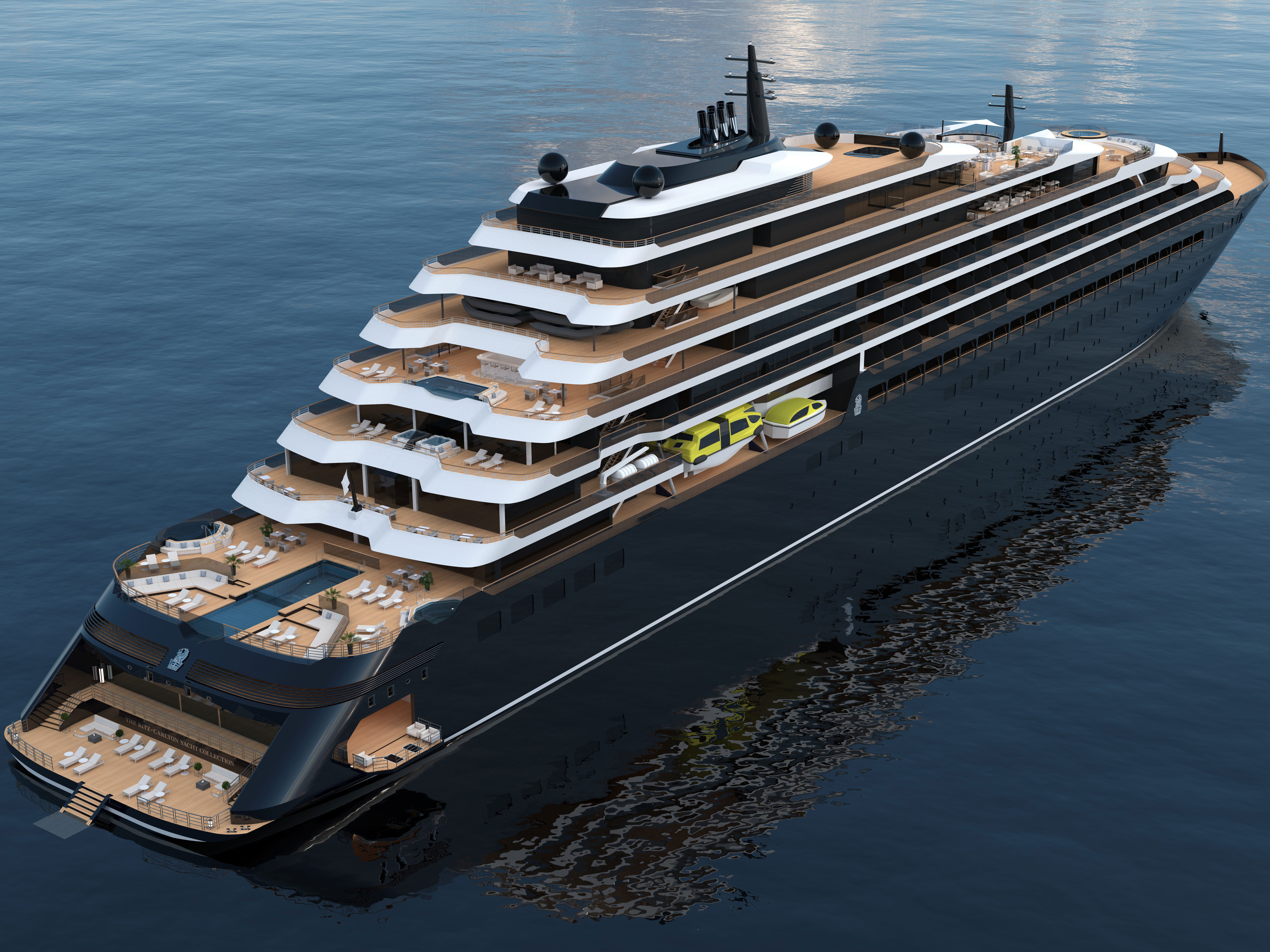 Hotel chain Ritz-Carlton is developing a cruise line that will debut in 2019. It's first vessel will carry 298 passengers.