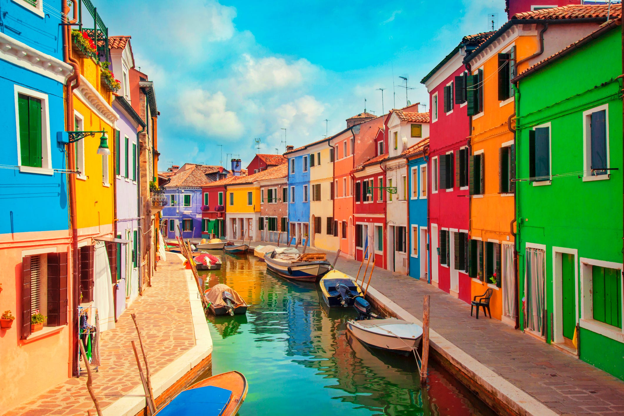 The world's most colorful cities and towns