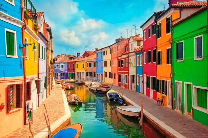 Colorful places in Europe to help inspire your next trip