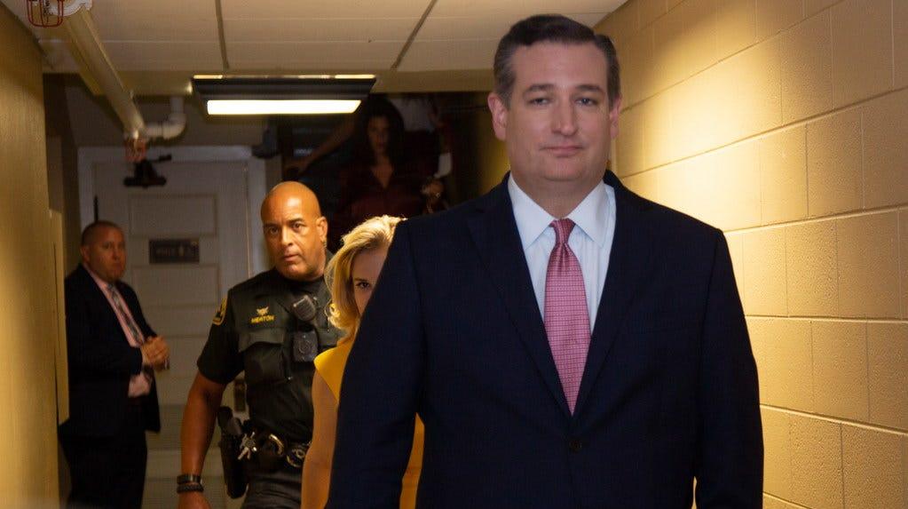 Sen. Ted Cruz, R-Texas, on Sept. 21 2018.