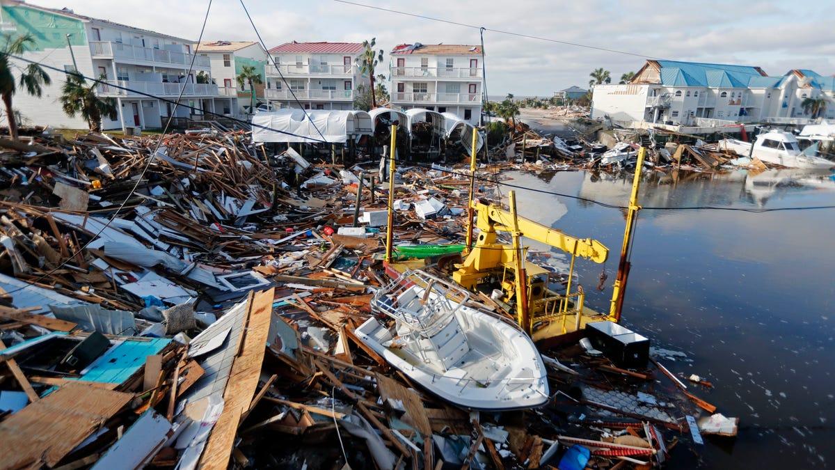 Hurricane Michael Photos Day After Devastation Hit Florida Panhandle
