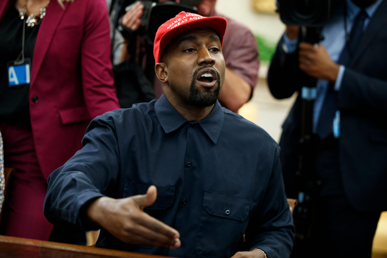 Kanye West Explains Why He Really Fell For Kim Kardashian inGQ images