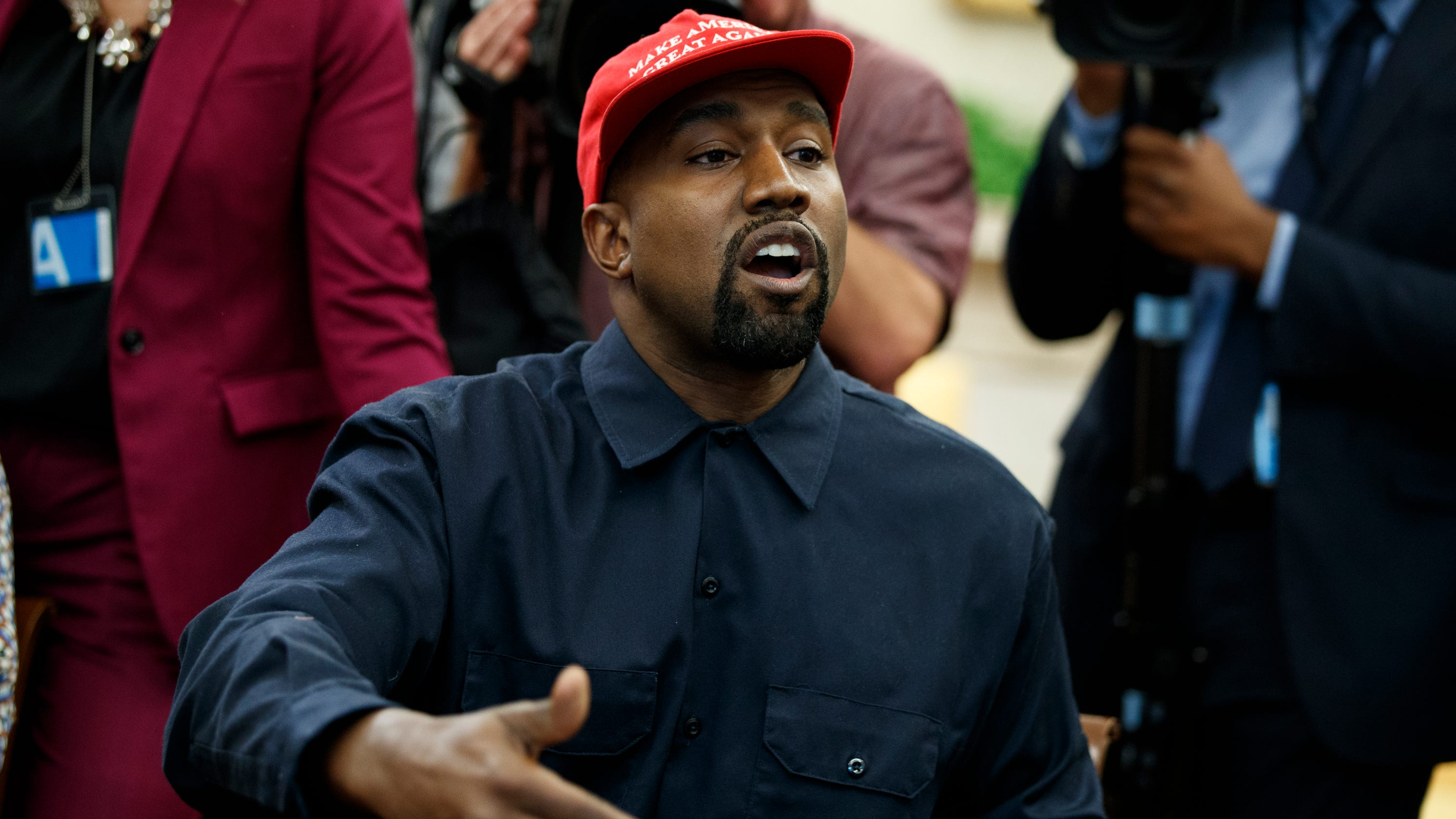 The NRA loved Kanye West s Oval Office monologue. Other celebs  Not so much e6b43ee03