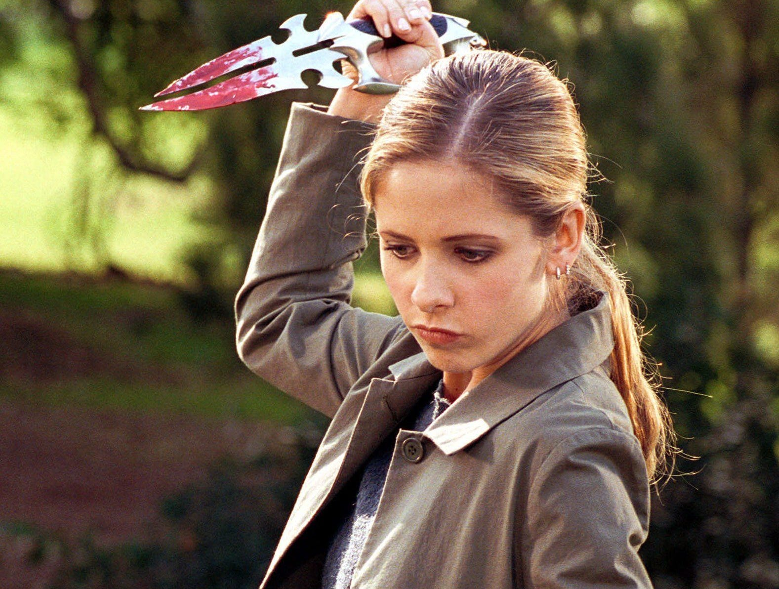 """Buffy the Vampire Slayer,"" which lasted for seven seasons on the UPN and WB networks, followed high school student Buffy Summers (Sarah Michelle Gellar) who is destined to be a vampire killer."