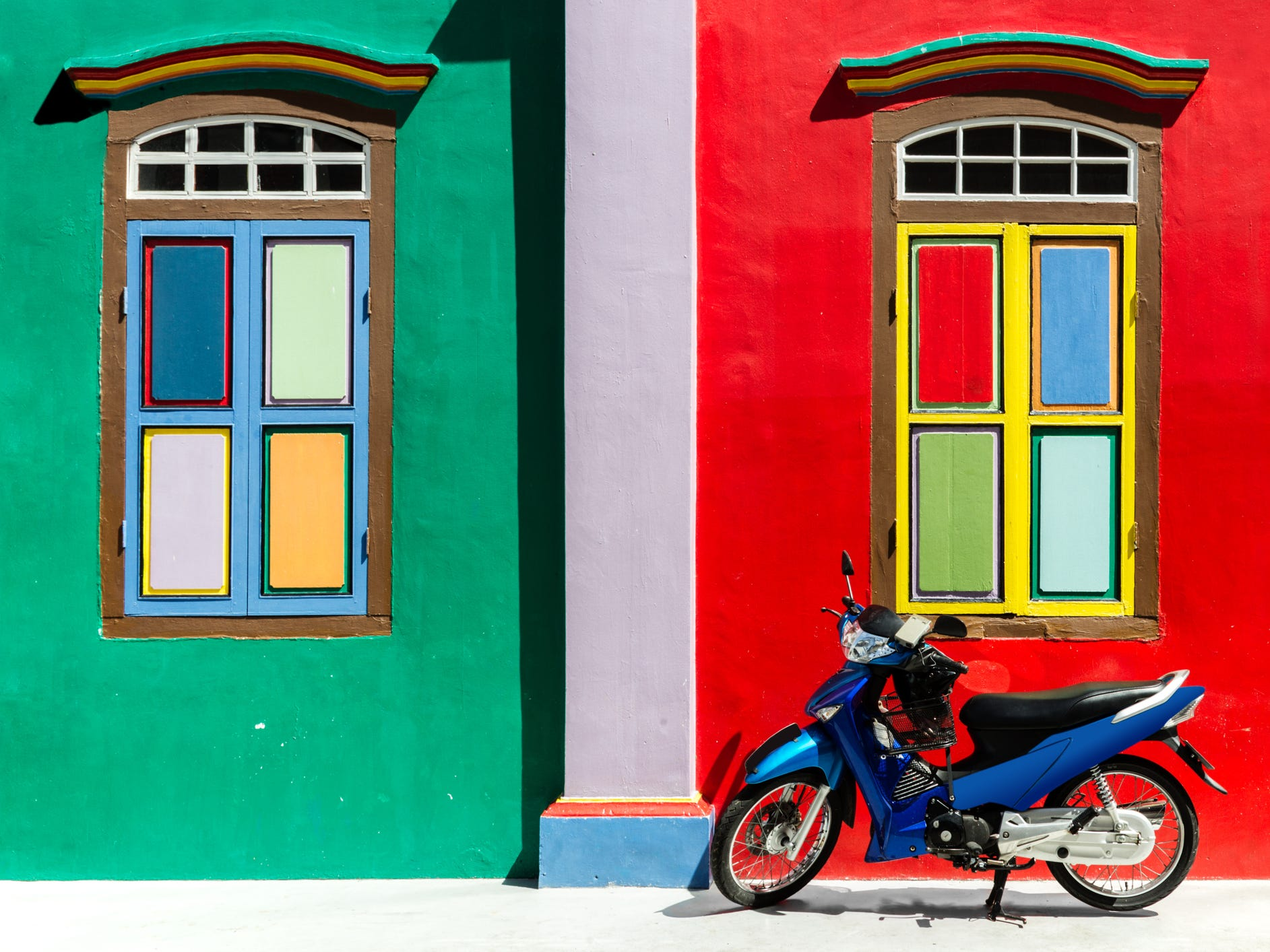 Singapore: Singapore makes this list for its bustling Little India district, where temples, markets, shopfronts and street art offer a melange of colors.