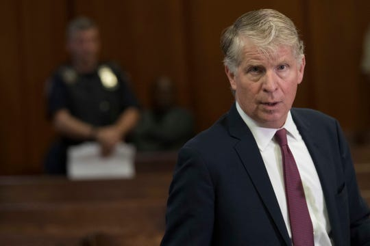Manhattan District Attorney, Cyrus Vance, Jr., after a hearing in court, Sept. 12, 2018.