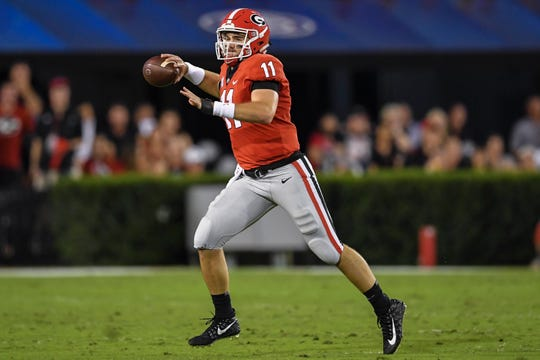 Quarterback Jake Fromm and Georgia will try to stay unbeaten this week at LSU.