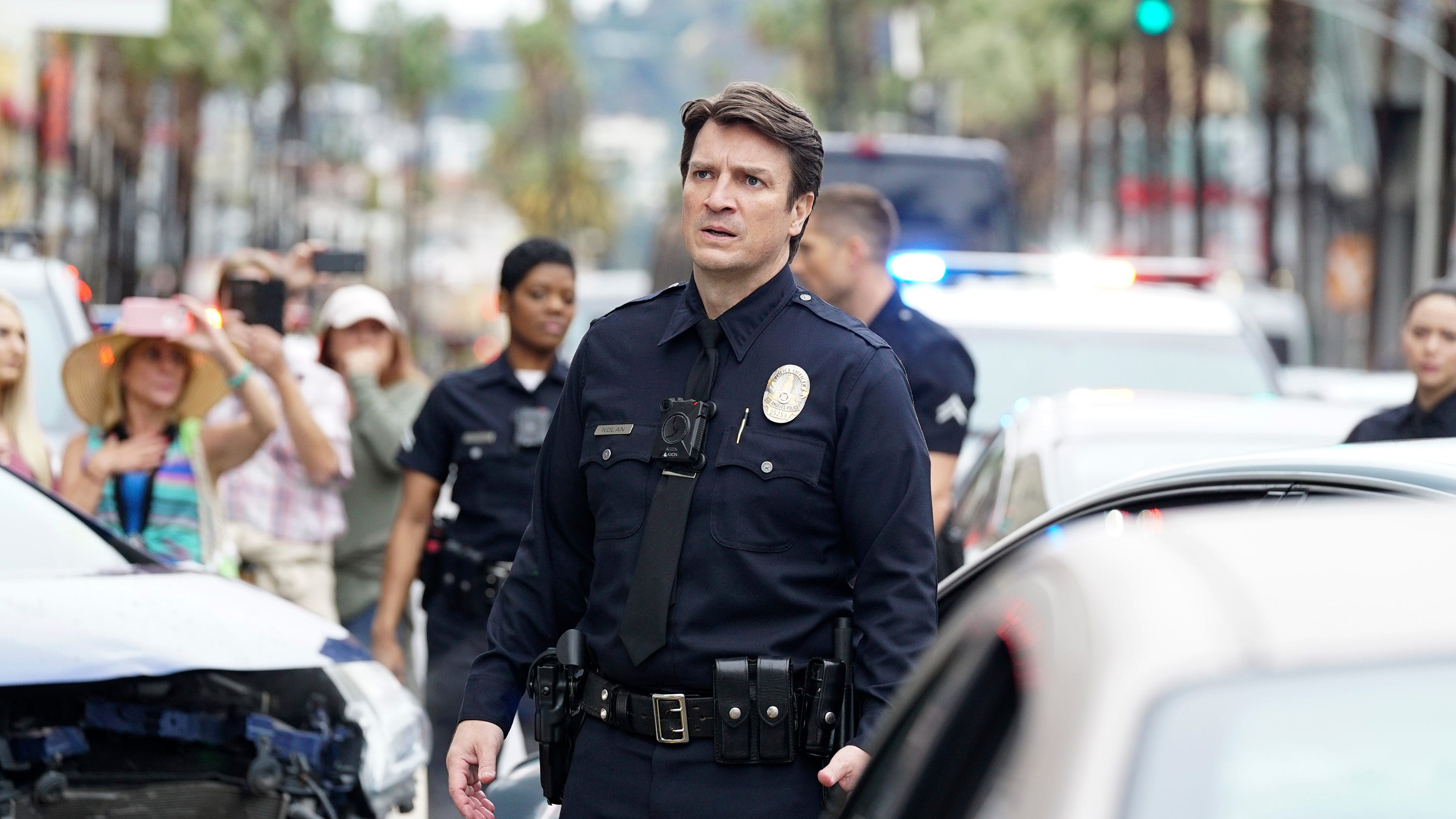 Review: Nathan Fillion is masterfully charming, even in by-the-numbers 'The Rookie'
