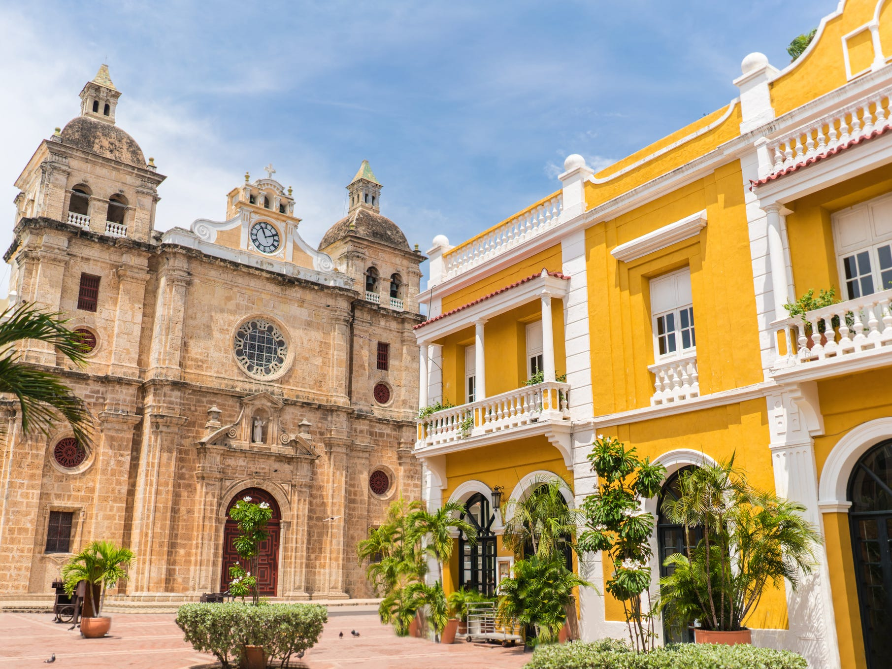Cartagena, Colombia: Surrounded by sturdy stone walls, the historical center of Cartagena is a feast for the eyes.