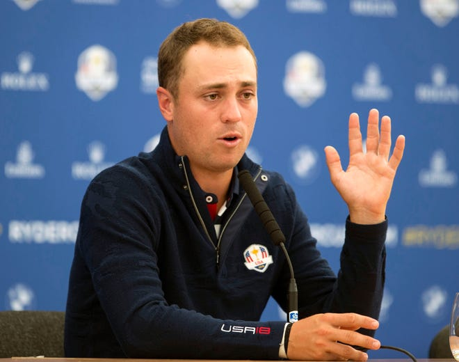 Justin Thomas says he knew about the USA team pairings well ahead of the Ryder Cup, countering remarks made by Patrick Reed.