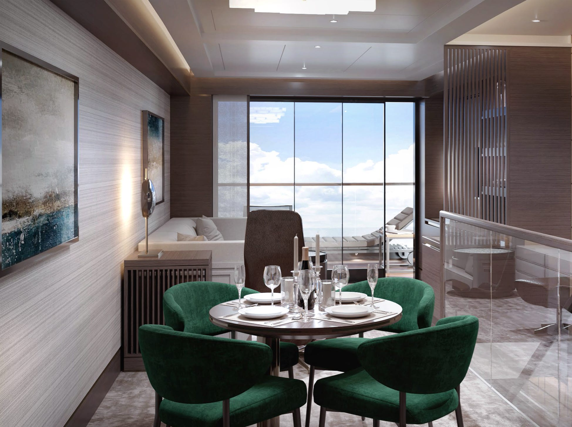 Hotel chain Ritz-Carlton is developing a cruise line called The Ritz-Carlton Yacht Collection that will debut in 2019. The line's first vessel will carry 298 passengers.