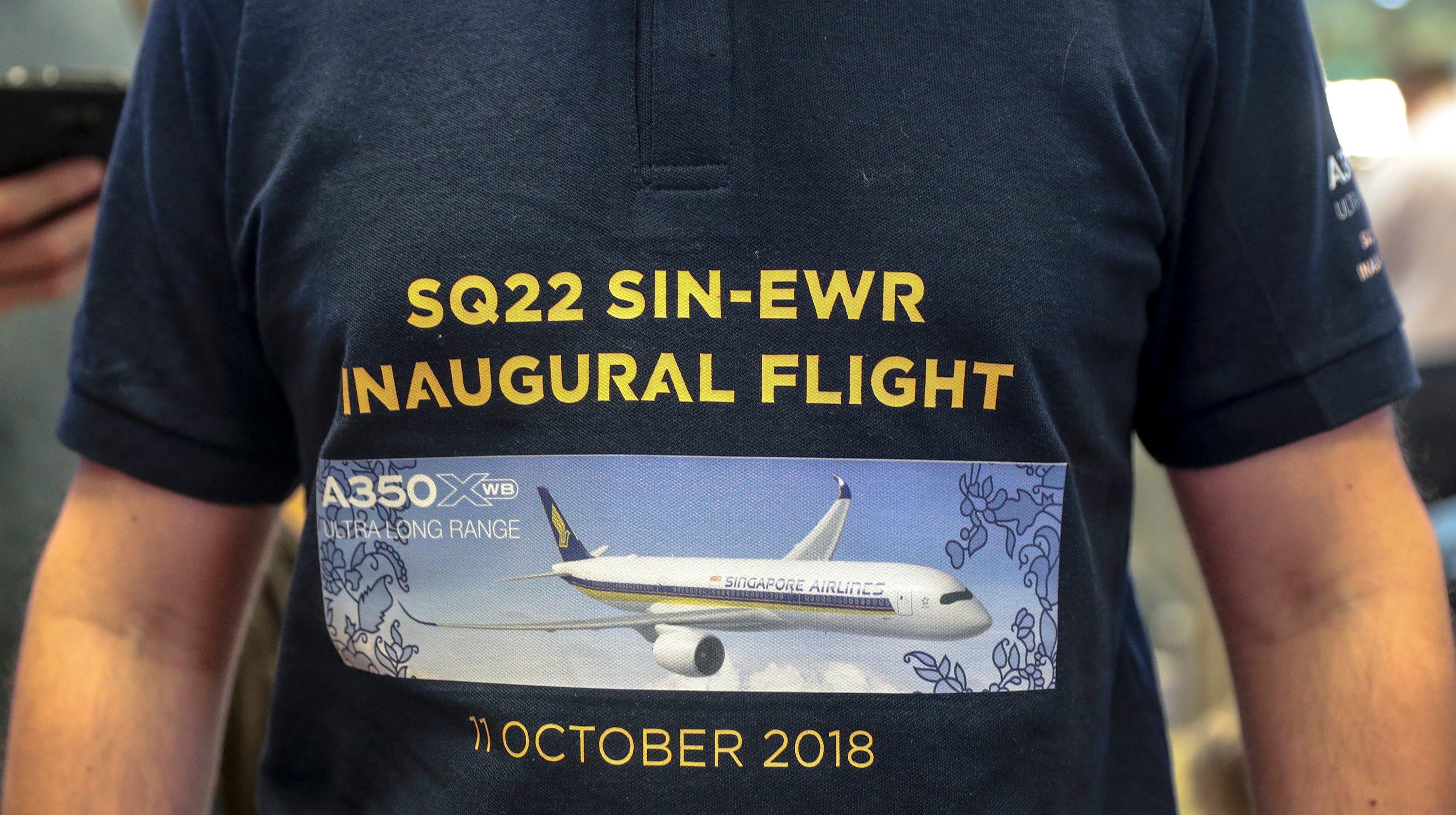 World\'s longest flight: Singapore Airlines retakes title with Newark ...