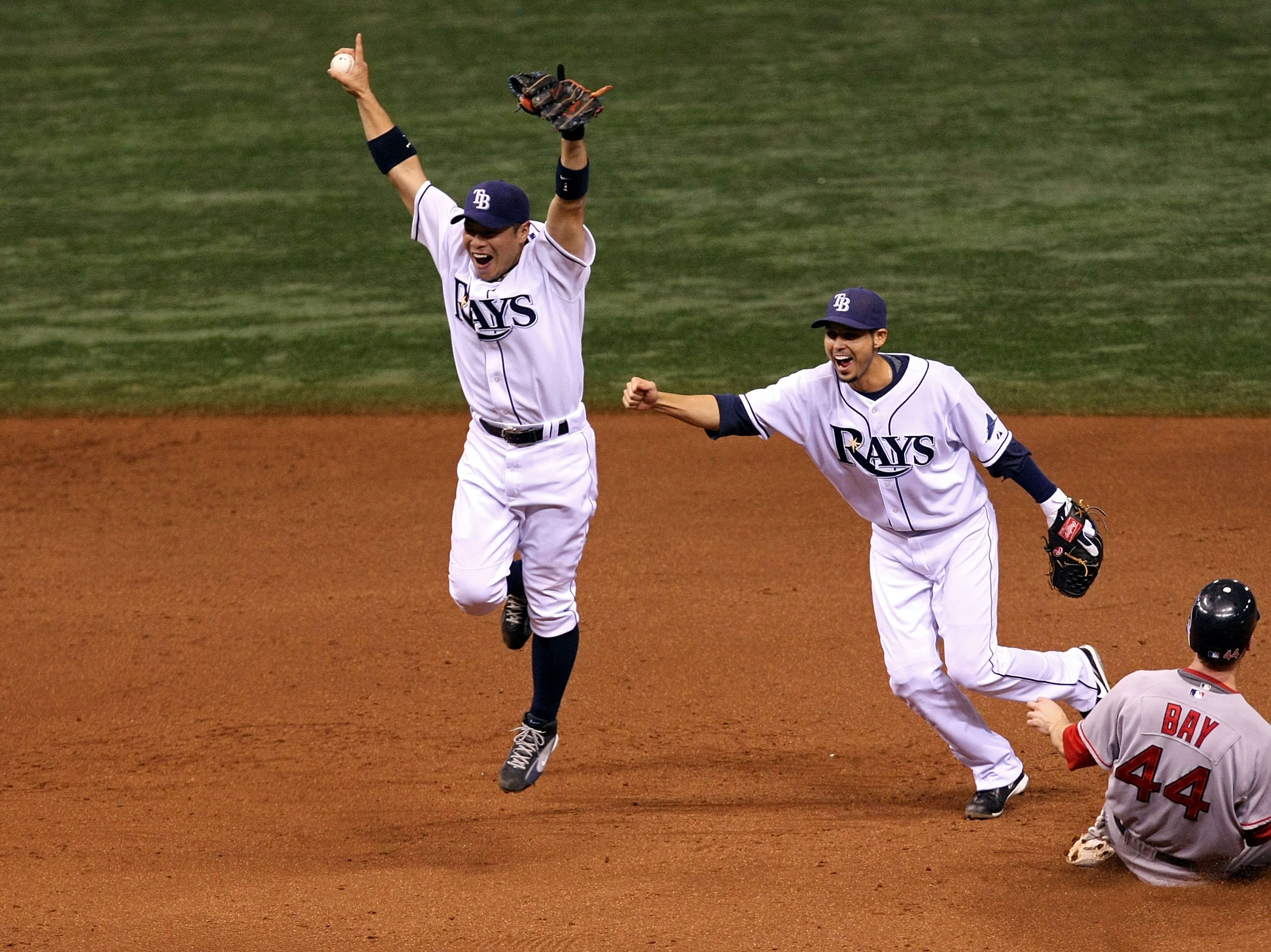 2008 ALCS Game 7: The Tampa Bay Rays completed their worst-to-first transformation, finishing off the Red Sox to secure their first trip to the World Series.