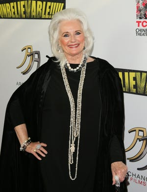"""Although she only made one guest appearance on """"Star Trek,"""" Celeste Yarnall made an impression of Yeoman  Martha Landon."""