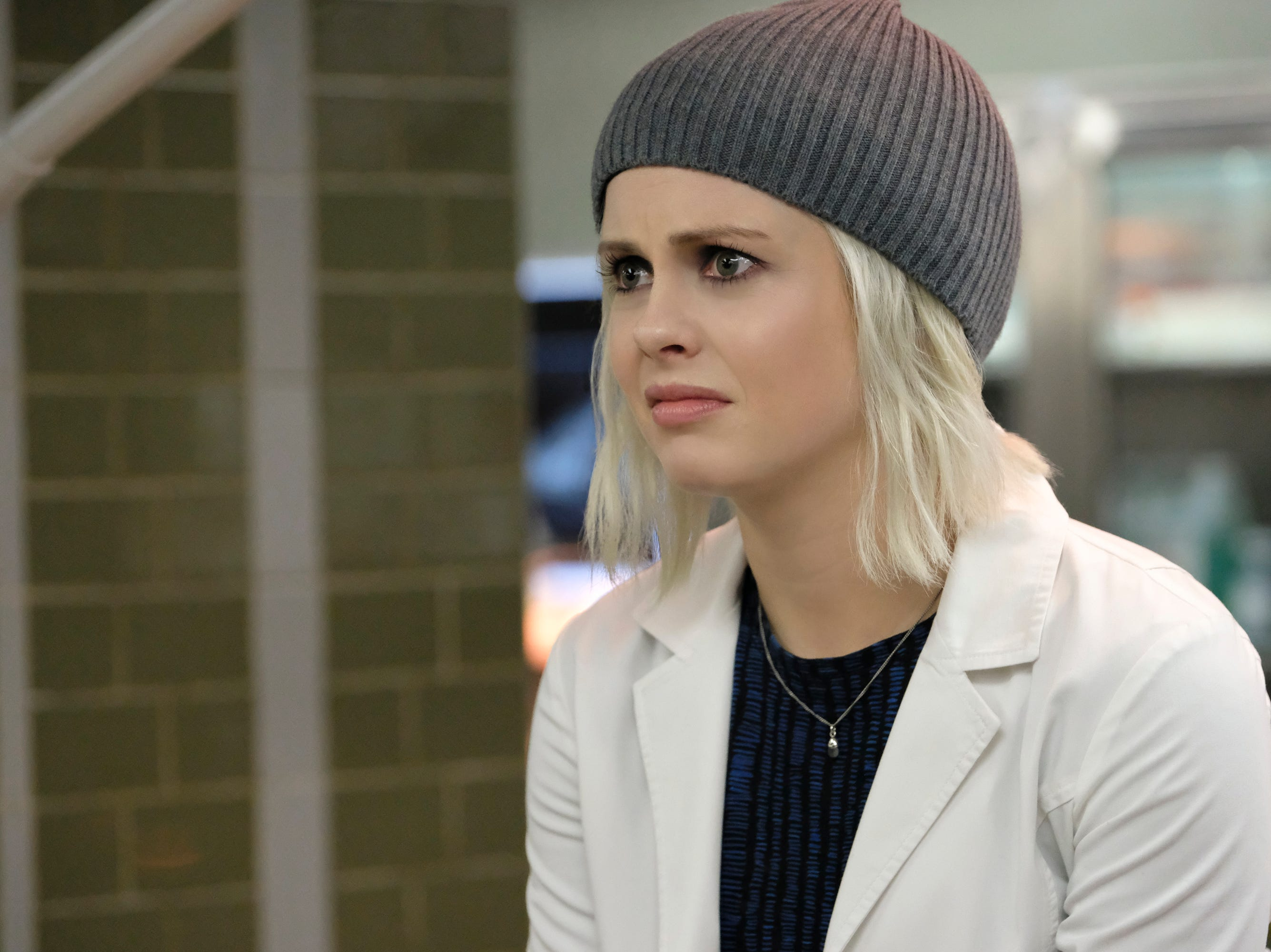 "Another brain-eating zombie is Liv Moore (Rose McIver), who eats the brains of corpses to help solve their murders on the CW show ""iZombie."" The show is based on a comic book series of the same name."