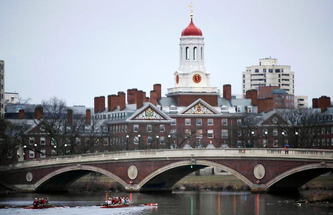 Harvard University on March 7, 2017.