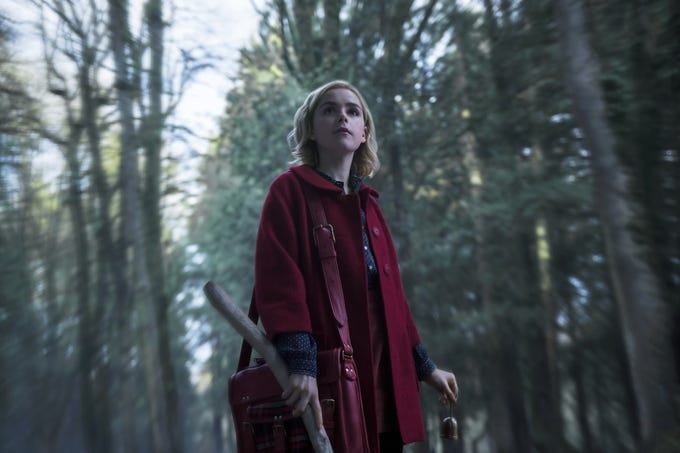 """The Chilling Adventures of Sabrina"" makes its long-awaited Netflix debut just a few days before Halloween with Kiernan Shipka in the title role. The series is just the latest in scary shows to grace television. Here are a few of our other favorite spooky shows."