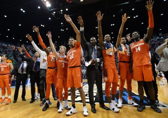 Ncaa Basketball Ncaa Tournament Second Round Auburn Vs Clemson