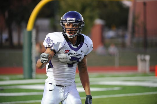 Johnny Knox was a standout receiver for the ACU Wildcats the 2007 and 2008 seasons.