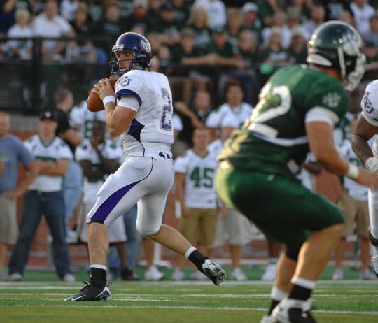 ACU quarterback Billy Malone, left, was a record-setting passer for the Wildcats from 2005 to 2008, and he was part of one of the nation's most potent offenses the last two seasons.