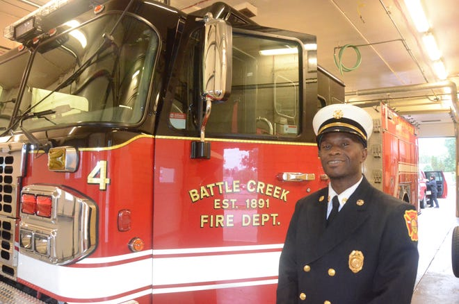 Fire Marshal Quincy Jones will drive a student to or from school. A drawing to pick a winner will be held during the open house at Station 4 between 2 and 4 p.m. Saturday.
