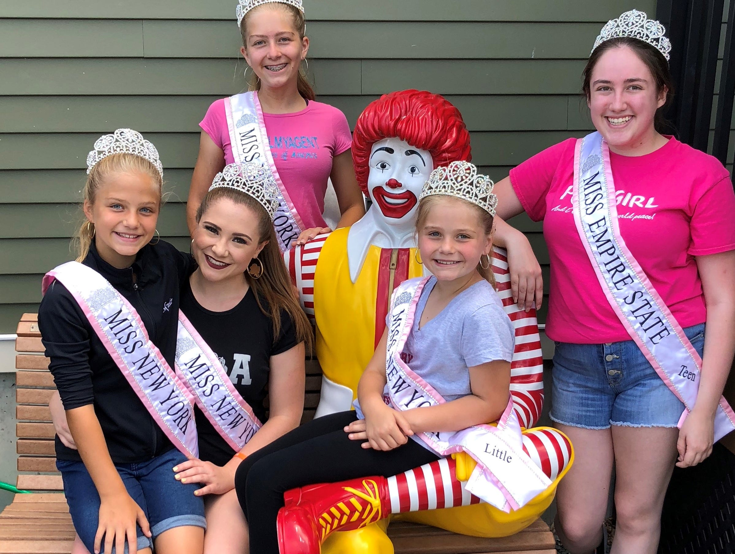 Before Brandy Engel was crowned Miss Princess of America, she was Miss New York, volunteering with Ronald McDonald house.