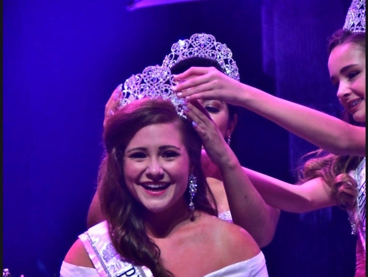 Brandy Engel was crowned Miss Princess of America, her second national title with the system.