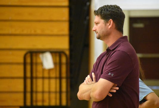 001 Owen Basketball Coach Rusty Smith Owen Warhorses 2018