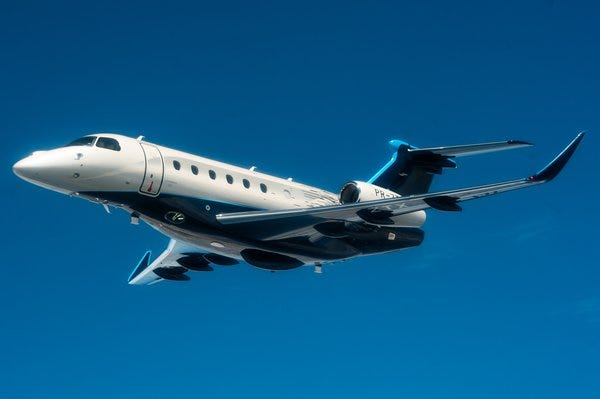 Embraer announced Sunday it will assemble a new line of business jets, the Praetor 500 and Praetor 600 at Orlando Melbourne International Airport.