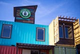 Island Joe's Coffee Shop and Gallery is moving to its new building constructed from shipping containers. READ ABOUT IT: http://bit.ly/2yeAQp9