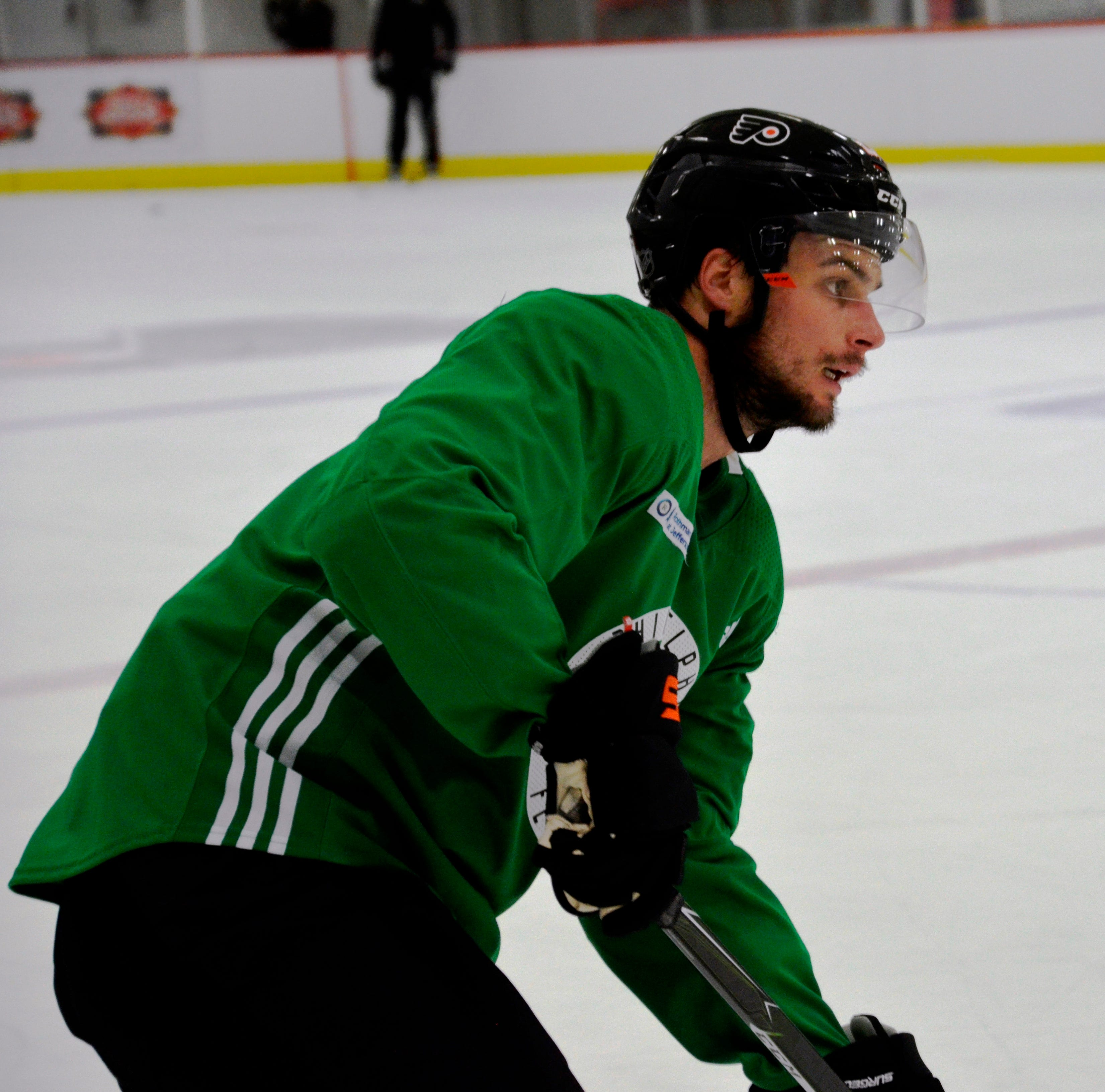 How Toronto summers helped Scott Laughton wherever Flyers put him