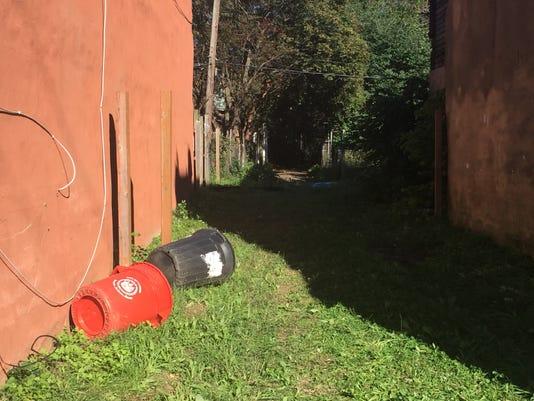 Child's body found in Camden alley