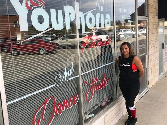 Lesha Malone's new Youphoria Fitness and Dance Studio has its grand opening Saturday.