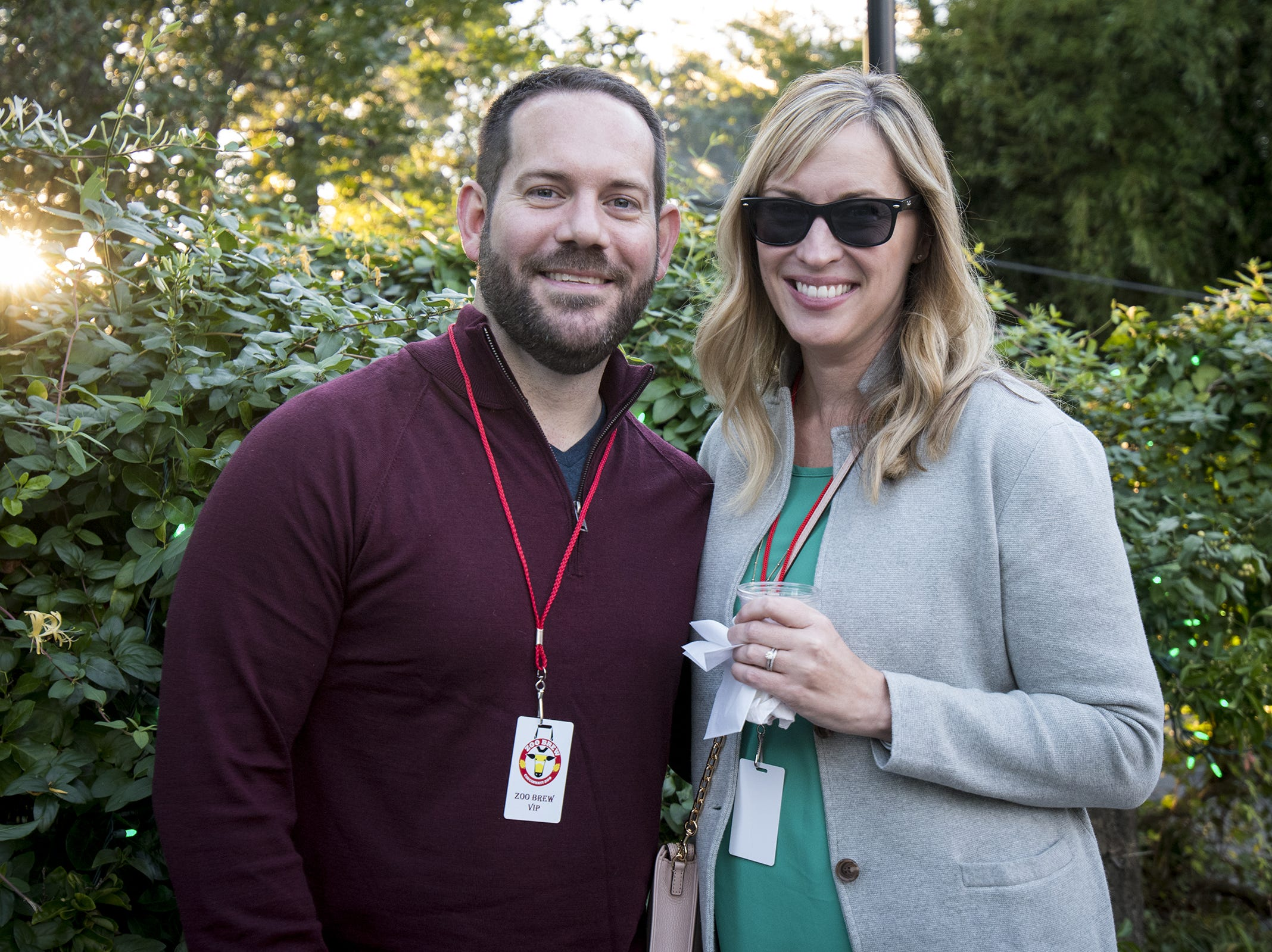 Andrew and Casey Elliott of Ft. Mitchell attend Zoo Brew.