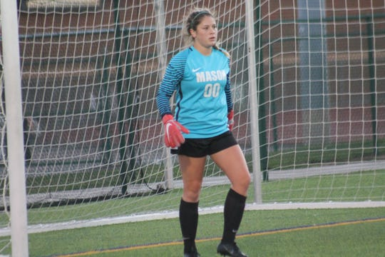 Mason junior goalkeeper Bethany Moser had the shutout against Fairfield 1-0 Oct. 12