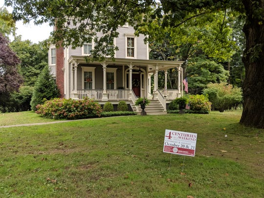 Visitors are encouraged to stop by the Reeve House, in Westfield, during Union County's Four Centuries in a Weekend on Oct. 20-21.