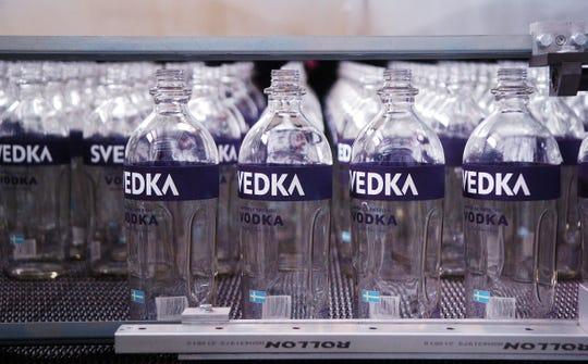 Svedka vodka.