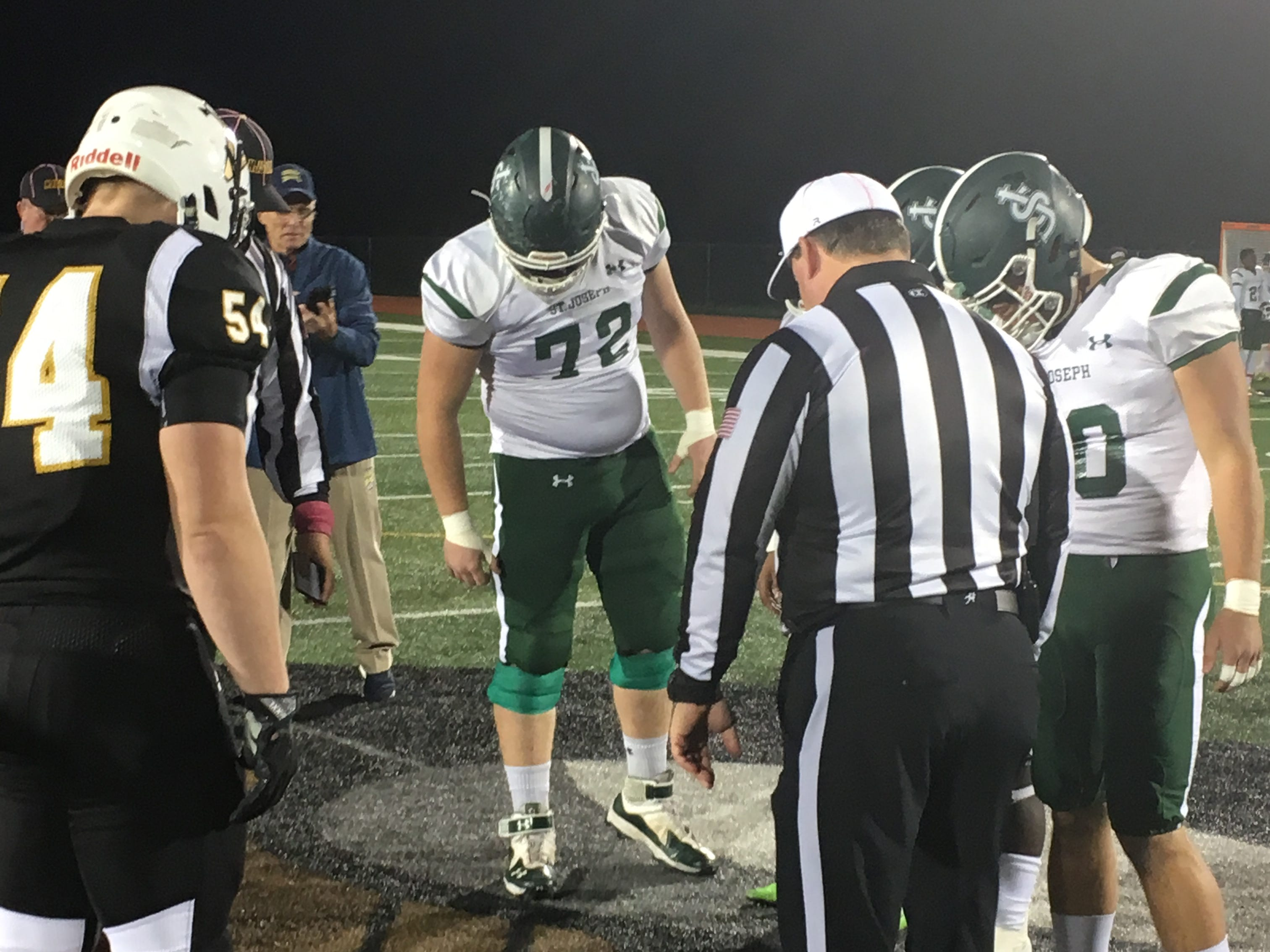 St. Joseph (Met.) at South Brunswick football on Friday, Oct. 12, 2018.