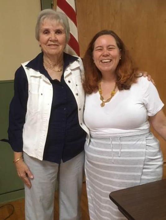 CASA-NJdirector and foster mother speak to WLCBB PHOTO CAPTION