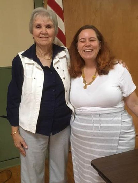 CASA-NJ director and foster mother speak to WLCBB PHOTO CAPTION