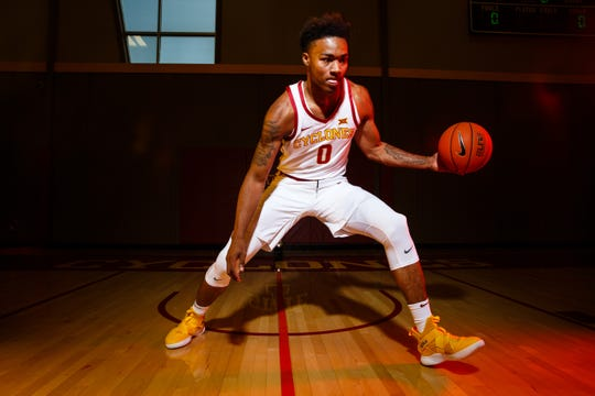 Zion Griffin is transferring from Iowa State after two seasons.